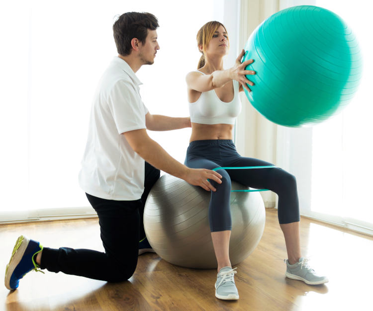 Sports injuries rehabilitation